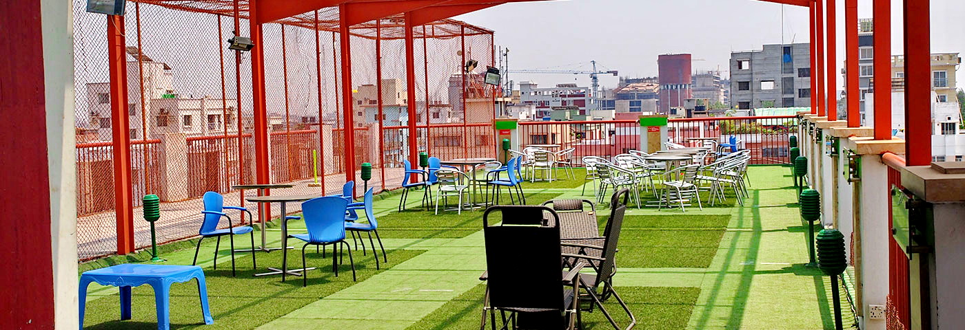 Roof Top Restaurant - The Uttara Club Limited
